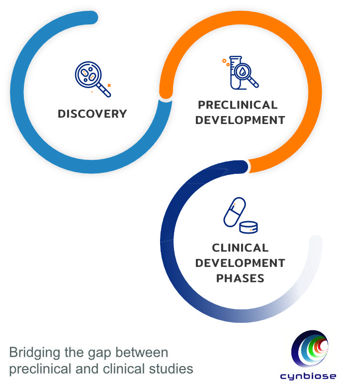 Cynbiose: Bridging the gap between preclinical and clinical studies